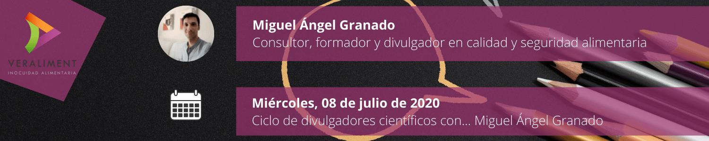 Ciclo Divulgadores Científicos Miguel Granado