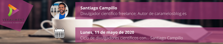Ciclo Divulgadores Científicos Santiago Campillo