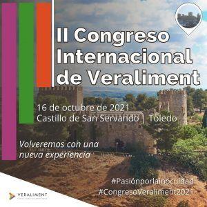 II Congreso Internacional de Veraliment | Inscríbete YA | 16 de octubre de 2021