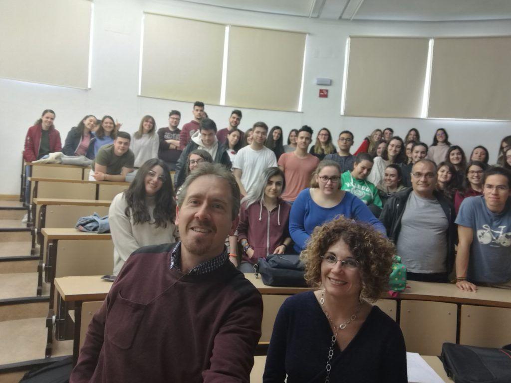 Almudena Columé, Andrés García y alumnos de 1º y 2º del Grado de Ciencia y Tecnología de los Alimentos de la Universidad de Castilla-La Mancha | Ciudad Real